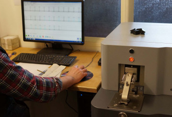 Spectromax-analysis of taler samples